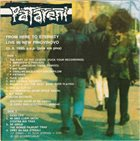 PATARENI From Here To Eternity - Live In New Pingvinovo album cover