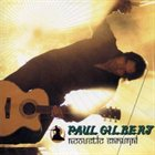 PAUL GILBERT Acoustic Samurai album cover