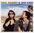 PAUL GILBERT Raw Blues Power album cover