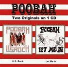 POOBAH US Rock / Let Me In album cover