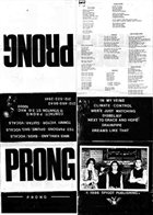 PRONG Demo '86 album cover