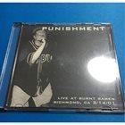 PUNISHMENT Live At Burnt Ramen Richmond, CA 3/14/01 album cover