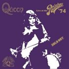 QUEEN Live At The Rainbow '74 album cover