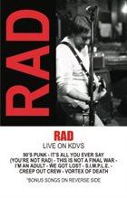 RAD Live On KDVS album cover