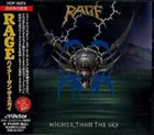 RAGE Higher Than the Sky album cover