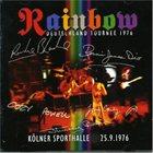 RAINBOW Deutschland Tournee 1976: Kölner Sporthalle, 25.9.1976 album cover