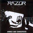 RAZOR Armed and Dangerous album cover