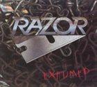RAZOR Exhumed album cover