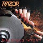 RAZOR Malicious Intent album cover