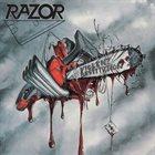 RAZOR Violent Restitution album cover