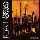 REACT React / Greed Split E.P. album cover
