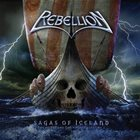 REBELLION Sagas of Iceland - The History of the Vikings Volume I album cover