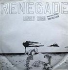 RENEGADE Lonely Road album cover