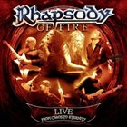 RHAPSODY OF FIRE Live - From Chaos To Eternity album cover