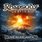 RHAPSODY OF FIRE Live in Atlanta album cover