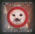 RIOT Live In Japan album cover