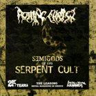 ROTTING CHRIST Semigods Of The Serpent Cult album cover