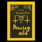 RUNNING WILD Heavy Metal like a Hammerblow album cover