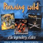 RUNNING WILD The Legendary Tales album cover