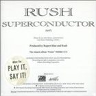 RUSH Superconducter album cover