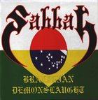 SABBAT Brazilian Demonslaught album cover