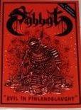 SABBAT Evil in Finlandslaught album cover
