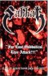 SABBAT Fae East Sabbatical Live Attack!!! album cover