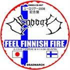 SABBAT Feel Finnish Fire album cover