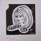 SABBAT Live Lovefire album cover