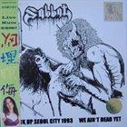 SABBAT Live Nuts album cover