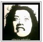 SABBAT Live Undertaker (Temis Osmond) album cover