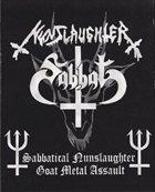 SABBAT Sabbatical Nunslaughter Goat Metal Assault album cover