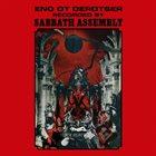 SABBATH ASSEMBLY Eno Ot Derotser album cover