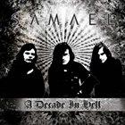 SAMAEL A Decade in Hell album cover
