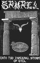 SAMAEL Into the Infernal Storm of Evil album cover