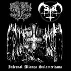 SATANIC FOREST Infernal Aliança Sulamericana album cover