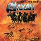 SAXON Dogs of War album cover