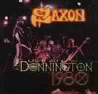 SAXON Live at Donnington 1980 album cover