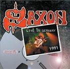 SAXON Live in Germany 1991 album cover