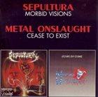SEPULTURA Morbid Visions / Cease to Exist album cover