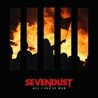 SEVENDUST All I See is War album cover