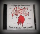 SHYWOLF Live In Derby 1983 album cover