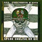 S.O.D. Speak English or Die album cover