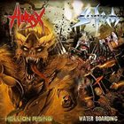 SODOM Hellion Rising / Water Boarding album cover