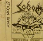 SODOM Witching Metal album cover