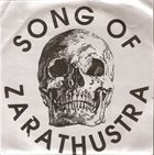 SONG OF ZARATHUSTRA Song Of Zarathustra album cover