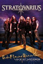 STRATOVARIUS — Under Flaming Winter Skies - Live in Tampere album cover