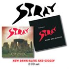 STRAY New Dawn / Alive And Giggin' album cover