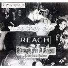 STRENGTH FOR A REASON 3 Way Split album cover