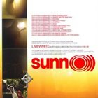SUNN O))) Live White album cover